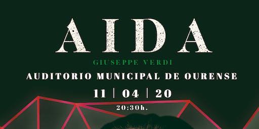 AIDA, G.Verdi en Ourense