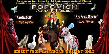World Famous Popovich Comedy Pet Theater LATE SHOW tickets