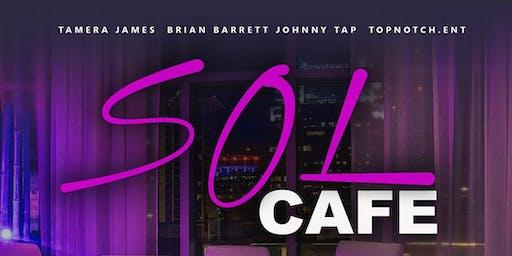 Sol Cafe Orlando - Black & White - 3 Year Anniversary