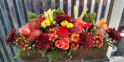 DIY Flower Design- Thanksgiving Centerpieces!