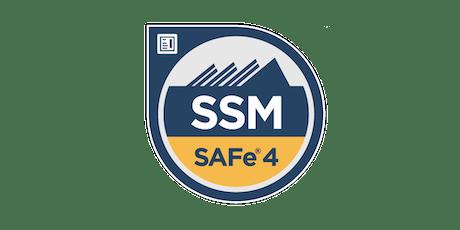 SAFe® Scrum Master (SSM) Certification Workshop - Fort Lauderdale, FL tickets