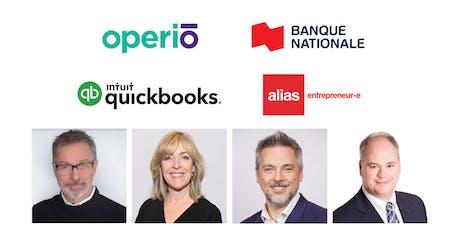 Panel pour les entrepreneurs à Sherbrooke billets