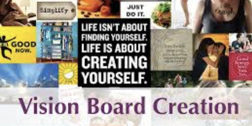 CREATE YOUR PURPOSE YEAR END VISION  BOARD PARTY