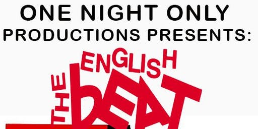 "'An Evening With"" ENGLISH BEAT"