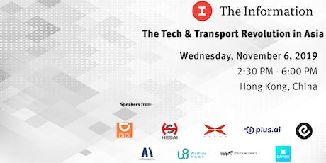 The Tech & Transport Revolution in Asia tickets