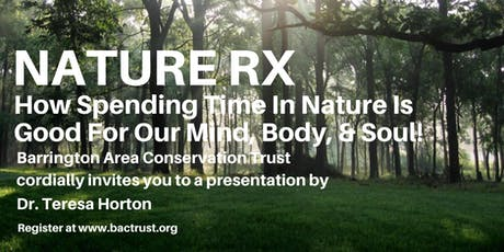 Nature RX: Free admission tickets