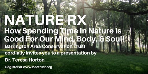 Nature RX: Free admission