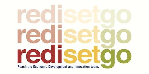 Redi Set Go - Reach the Economic Development and Innovation Team