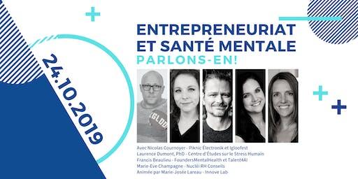 Conférence │ Entrepreneuriat et santé mentale, parlons-en!