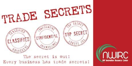 Intellectual Property - Trade Secrets tickets