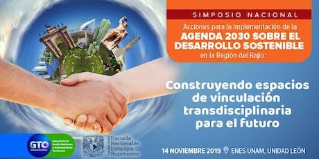 MESAS DE TRABAJO / AGENDA 2030 SOBRE EL DESARROLLO SOSTENIBLE tickets