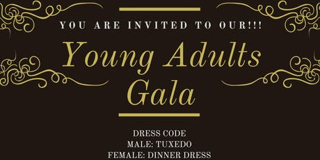 Young Adults Gala Night!!! tickets