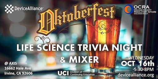 OktoberFest - Life Science Trivia Night & Mixer