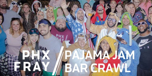 Scottsdale Pajama Jam Bar Crawl