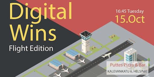 Digital Wins - Flight