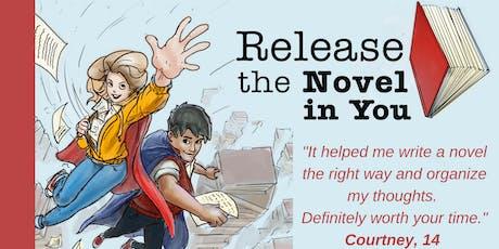 Fall Break Teen Novel Writing Workshop tickets