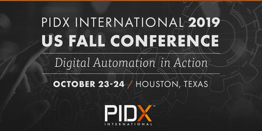 2019 PIDX International US Fall Conference