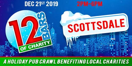 12 Bars of Charity - Scottsdale 2019 tickets