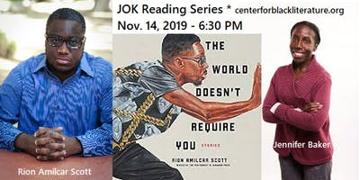 """An Evening with Rion A. Scott, Author of The World Doesn't Require You"""