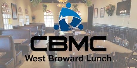 CBMC West Broward Lunch tickets