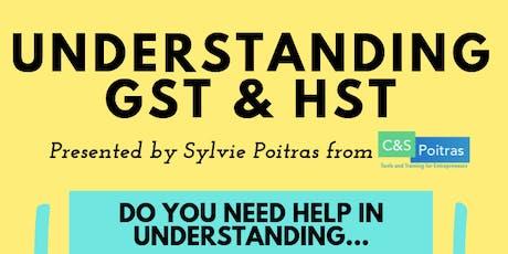 Understanding GST & HST tickets