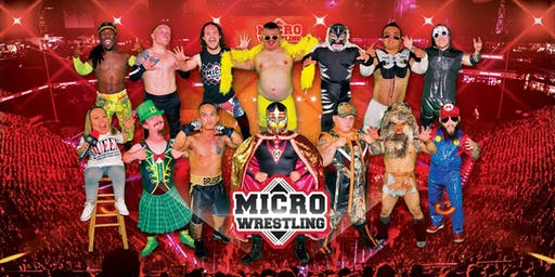 All-Ages Micro Wrestling at the Temple Theater!