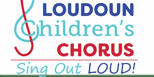 Loudoun Children's Chorus Sing Out Loud! Workshop