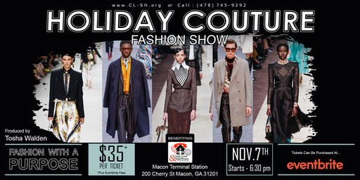 Holiday Couture Fashion Show