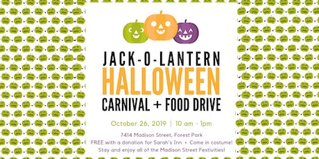 6th Annual Jack-o-Lantern Halloween Carnival and Food Drive tickets