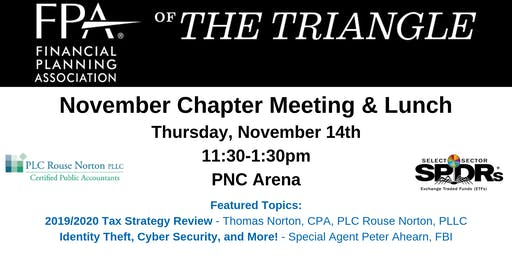 FPA November Chapter Meeting & Lunch