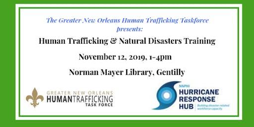 Human Trafficking & Natural Disasters Training