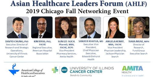 Asian Healthcare Leaders Forum (AHLF) - 2019 Chicago Fall Networking Event