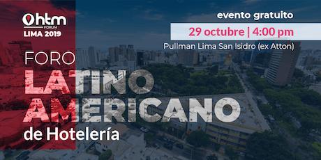 HTM Forum Lima entradas