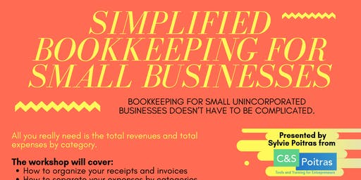 Simplified Bookkeeping for Small Businesses
