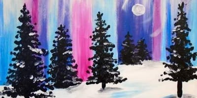 Bob Ross  Happy Little Trees painting class