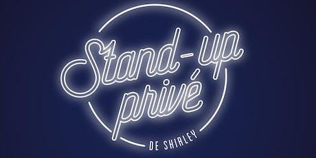 Stand Up Privé billets