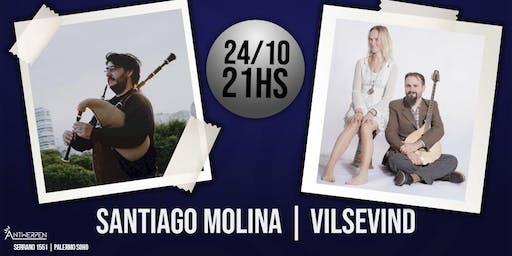 Santiago Molina | Vilsevind en Antwerpen Espacio
