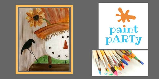 All Ages Paint Party on Canvas - Scarecrow - $25pp