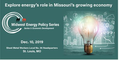 Midwest Energy Policy Series Energy Economic Development