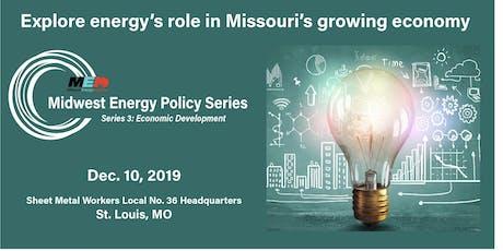 Midwest Energy Policy Series Energy Economic Development tickets