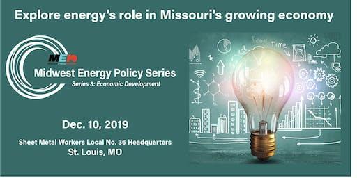 Midwest Energy Policy Series Energy Economic Development