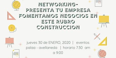 Networking-Presenta tu empresa-Generación de Negocios entre empresarios entradas