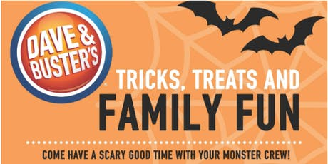 Halloween Family Fun Party @ Dave & Buster's Florence tickets