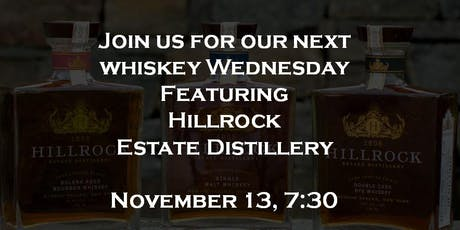 Whiskey Wednesday - Hillrock tickets