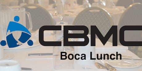 CBMC Boca Lunch tickets