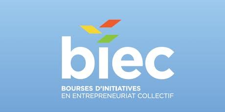 Dévoilement des lauréats du 1er appel de projet des BIEC Montérégie billets