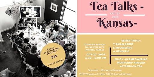 Tea Talks Kansas - Trailblazing | Empowering | Authentic