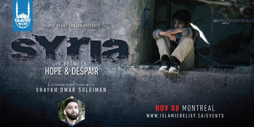 Fundraising Dinner with Shaykh Omar Suleiman · Montreal