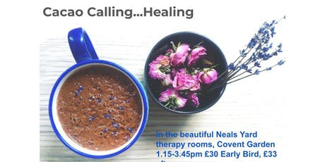 Part 2: Cacao Ceremony.  Heal your relationship with your body: new freedom tickets