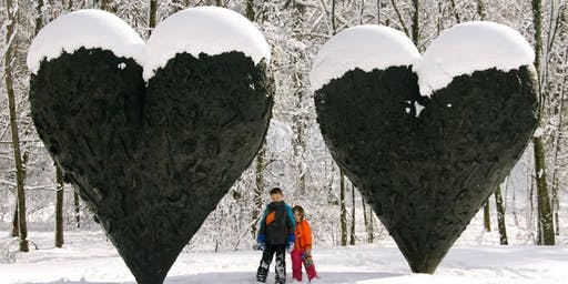 Snowshoe Tours in the Sculpture Park - January 11, 2020 (10:30 am or 1 pm)